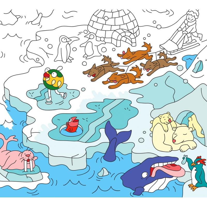 Sets De Table En Papier A Colorier Animals Judy The Fox