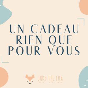 carte cadeau virtuelle judy the fox