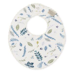 bavoir-en-mousseline-de-coton-organique-feuilles-bleues-cam-cam