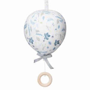 mobile-musical-ballon-motifs-feuilles-bleues-cam-cam