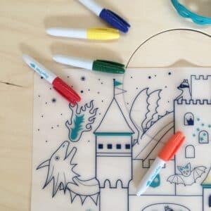 super-petit-set-de-table-en-silicone-theme-chateau