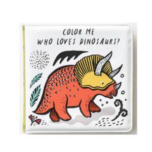 livre-pour-le-bain-wee-gallery-dinosaures