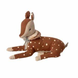 peluche-cosy-bambi-allongee-petit-modèle-marque-maileg