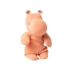 peluche-hippopotame-coloris-abricot-marque-maileg