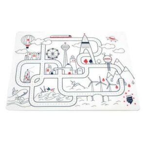 set-de-table-super-petit-en-silicone-a-colorier-theme-city
