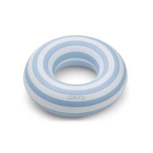 bouee-de-baignade-bleue-a-rayure-liewood