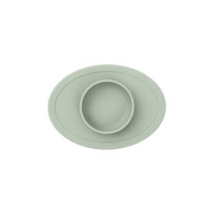 petit-bol-et-set-de-table-en-silicone-vert-amande