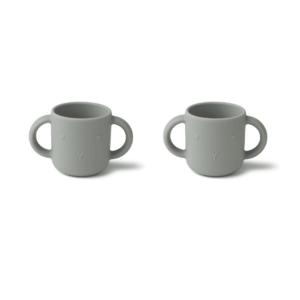 gobelet-en-silicone-gris-avec-poignee-pour-bebe-liewood