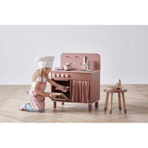 cuisine-en-bois-vintage-enfant-flexa