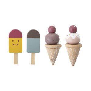 dinette-de-glaces-et-sorbets-en-bois-bloomingville-mini-photo