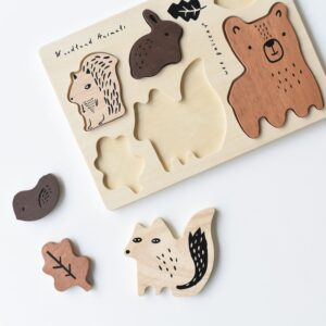 puzzle-en-bois-animaux-foret-wee-gallery-1