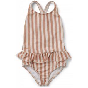 maillot-de-bain-rayures-corail-blush-liewood