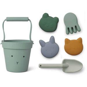 set de plage en silicone pour enfant lapin multi mix