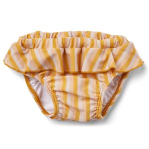 culotte de bain jaune et creme liewood