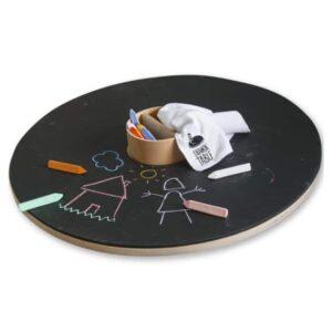 plateau rond réversible pour table à dessiner drawin'table