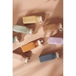 lot de gourdes en silicone aux coloris mixtes 350 ml