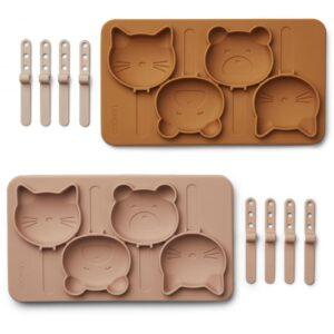 set de moules à glace en silicone liewood