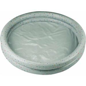grande piscine gonflable confetti menthe pour enfants
