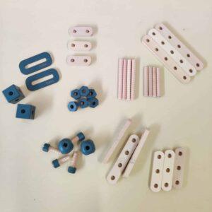 Set de construction – Bleu foncé