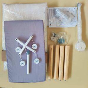 table à langer et ses pièces détachées pour poupée, jouet pour enfant