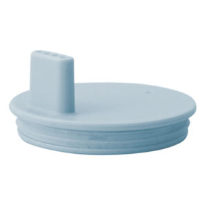 couvercle à bec bleu clair pour tasse en mélamine