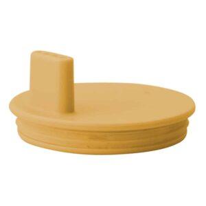 couvercle à bec moutarde design letters