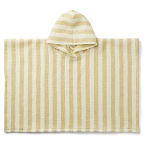 poncho paco à capuche pour enfant de la marque liewood