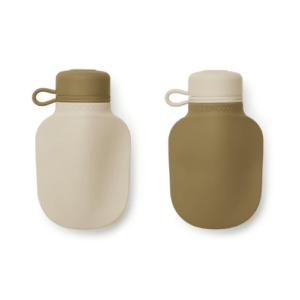 Lot de 2 bouteilles smoothie - kaki mix
